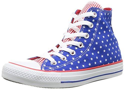 Converse, Chuck Taylor All Star Femme Plus Star HI, Sneaker, Donna, Blau (53 BLEU/BLC/RGE), 40