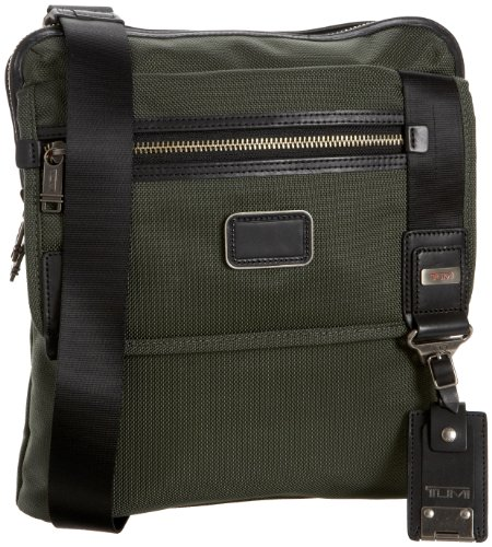 Tumi Alpha Bravo Day Annapolis Zip Flap Bag,Spruce,one size