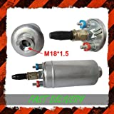 044 High Flow 300 LPH In-line External Fuel Pump Kit Race Project Car Bosch type