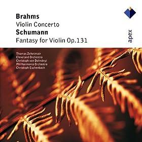 Brahms : Violin Concerto & Schumann : Fantasy - Apex