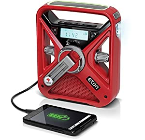 American Red Cross FRX3 Hand Crank NOAA AM/FM Weather Alert Radio