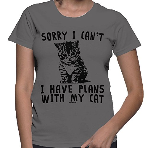 womens-sorry-i-cant-i-have-plans-with-my-cat-t-shirt-charcoal-small