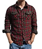 ZBED Brandit Duncan Shirt Red-Brown XXL