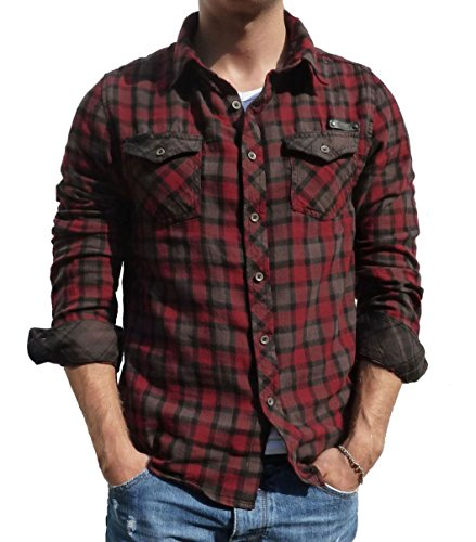 Brandit Herren Hemd Flanell Check Shirt