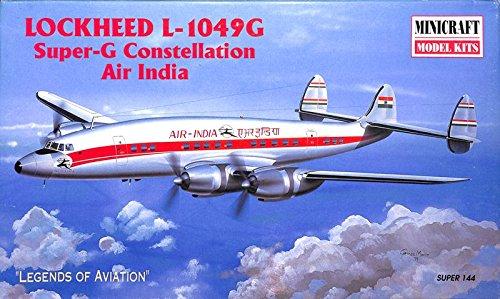 Minicraft 1:144 Lockheed L-1049G Super-G Constellation Air India Kit #14460 (Lockheed Constellation Model compare prices)