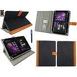 Emartbuy Samsung Galaxy Tab S2 9.7 Inch SM-T819 Tablet Tablet 10 Inch Universal Range Blue Denim Multi Angle Executive...