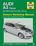 Audi A3 Diesel Owner's Workshop Manual: 2008 to 2012