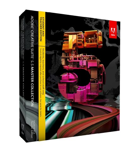 Adobe Creative Suite 5.5 Master Collection, Student  &  Teacher version (Mac)