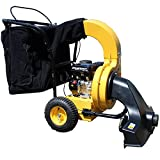 HAIGE 落ち葉 掃除機 シティクリーナー 自走式 大容量 196cc エンジン 4サイクル 6.5馬力 HG-6575