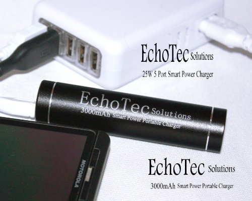 EchoTec Solutions 3000mAh Power Bank