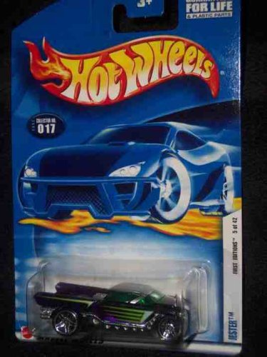 2002 First Editions #5 Jester #2002-17 Collectible Collector Car Mattel Hot Wheels - 1