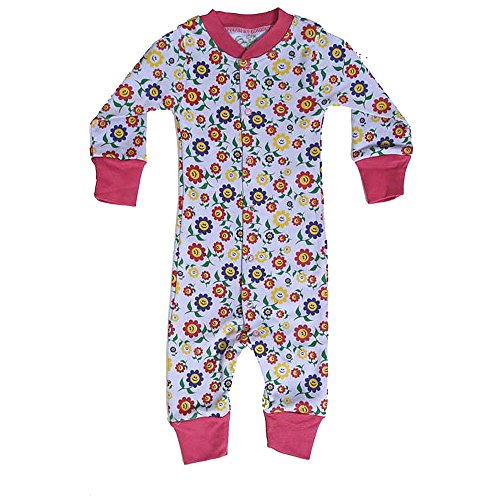 Earth Conscious Baby Body Suit [C-01040_Purple_3-6 Months]