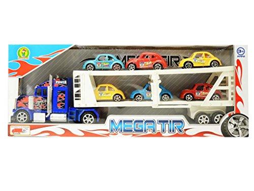 camion gigante per trasporto veicoli - mazzeo giocattoli