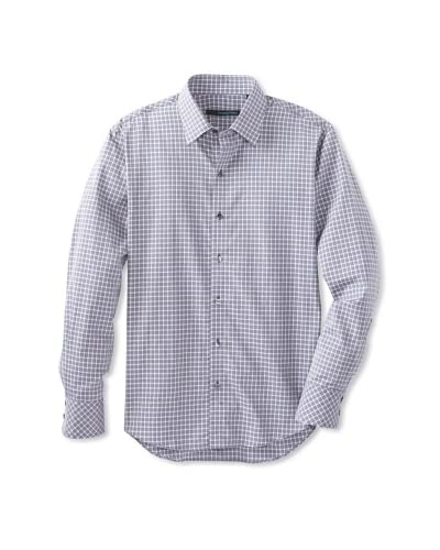 Zachary Prell Men's Foster Checked Sportshirt