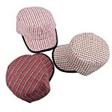 C-Princessストローキャップ 3色セット キャスケット 麦わら帽子 麦藁帽子 ストローハット サンバイザー レディース 紫外線対策 カラフル