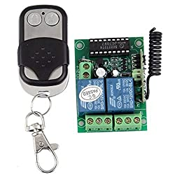 See Foxnovo 12V 10A 2 Channel Universal Gate Garage Wireless Opener Remote Control Switch + Transmitter Details