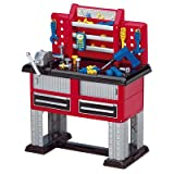 American Plastic Toy 38 Piece Deluxe Workbench ~ American Plastic Toy