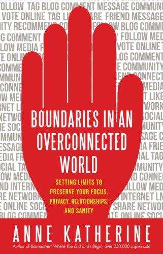 Boundaries In An Overconnected World: Setting Limits To Preserve Your Focus, Privacy, Relationships, And Sanity front-101423