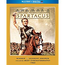 Spartacus (Blu-ray + Digital with UltraViolet)