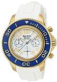 [エンジェルクローバー]Angel Clover 腕時計 シークルーズ ブルー/ホワイト文字盤 クロノグラフ SC47YBU-WH メンズ