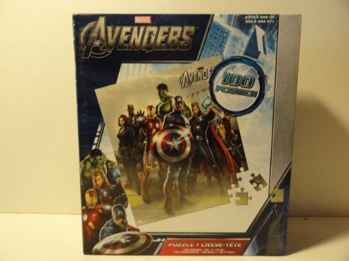 The Avengers 100 Piece Jigsaw Puzzle - 1