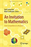 An Invitation to Mathematics: From Competitions to Research