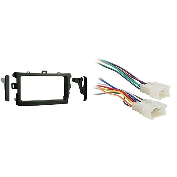 Metra 95-8223S Double DIN Installation Kit for 2009-up ... on double din bracket, double din cover, double din radio, double din trim ring, double din dash panel,
