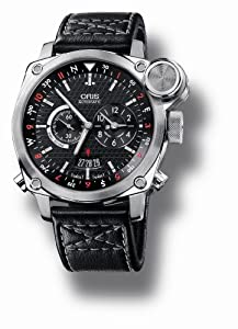 Oris Men's 690 7615 4154LS BC4 Flight Timer Automatic Black Dial Watch by Oris