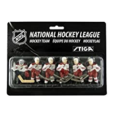 NHL Phoenix Coyotes Table Top Hockey Game Players Team Pack by Stiga