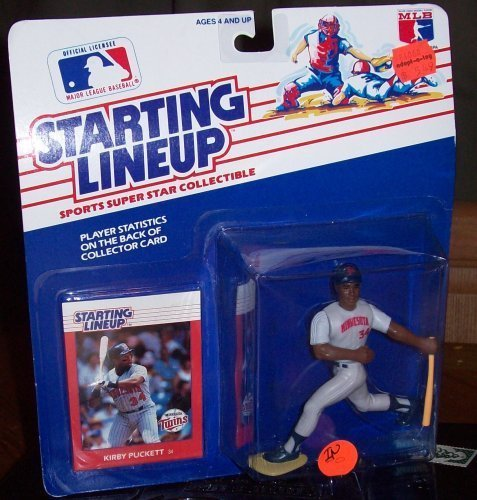Starting Lineup MLB ~ Kirby Puckett w/ Minnesota Twins 1988