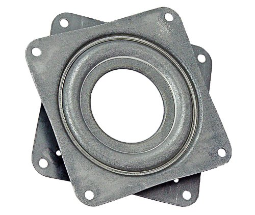"Triangle Lazy Susan Bearings, 3"", 5/16"" Thick, 200 lb. Capacity"