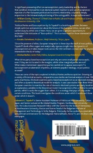 Political Parties and Euroscepticism (Palgrave Studies in European Union Politics)