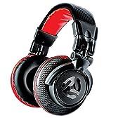 Numark DJヘッドホン 50mmドライバー 折りたたみ可能 Red Wave Carbon