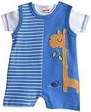 Schnizler Unisex Baby Spieler Set Interlock Giraffe 2 tlg. mit