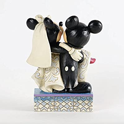Disney Traditions Mickey and Minnie Wedding Quantity of 2 pc,