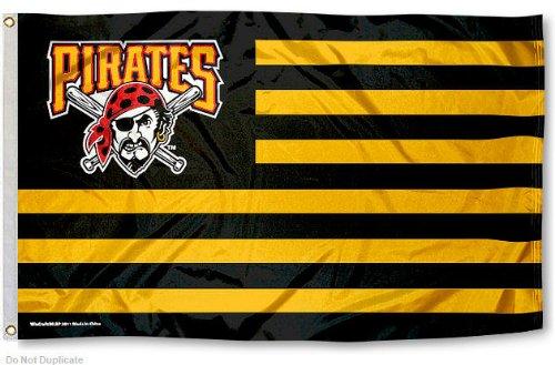 MLB Pittsburgh Pirates Nation Flag 3x5 Banner