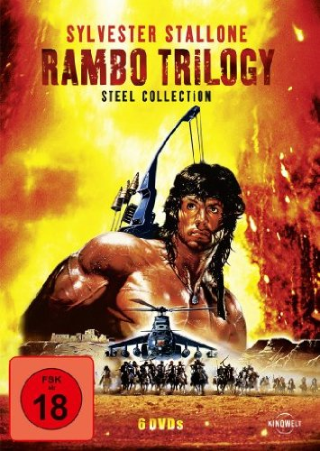 Rambo Trilogy: Steel Collection (Steelbook) (Uncut) [6 DVDs]