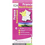 801 FRANCE NORD-OUEST 2014  1/350.000