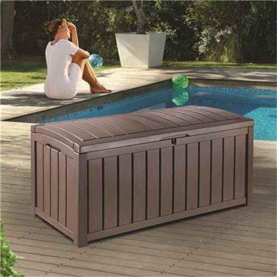 Keter Glenwood Plastic Garden Storage Box