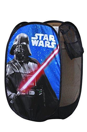 Star Wars Darth Vader Pop up Hamper Laundry Basket Toy portable storage