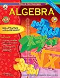 img - for Algebra: Skill Practice and Assessment for Middle/High School (Skills for Success Series) book / textbook / text book