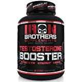 Testosterone Booster for Men Supplement Natural Energy, Strength, Sex Libido & Stamina - Lean Muscle Growth - Promotes Fat Loss - Increase Male Performance & Vitality Build Mass 90 Veggie Caps