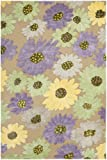 Safavieh Wilton Collection WIL341A Handmade Wool Area Rug, 4-Feet by 6-Feet, Taupe and Lilac New Zealand