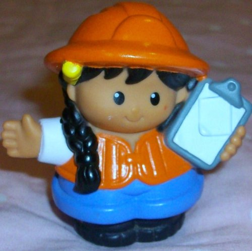 Buy Low Price Mattel Fisher Price Little People Girl Student Figure Replacement Doll Toy (B0023Z32MS)