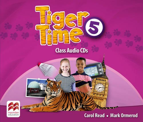 Tiger Time Level 5 Audio CD
