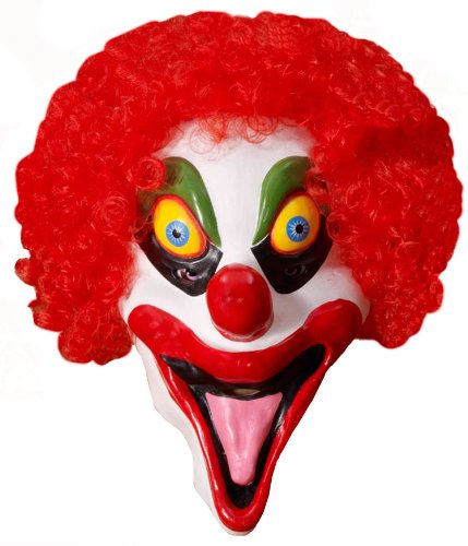 Smiley The Clown Mask - Adult Std.