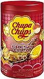 Chupa Chups Fresh Cola Piruletas, 100 Unidades, 1200g