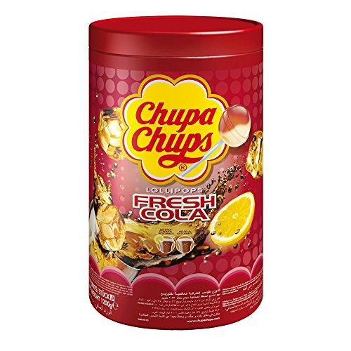 Chupa Chups Cola Sucettes de sauna (100x 12g)