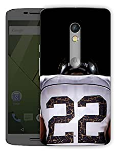 "Rugby Love Printed Designer Mobile Back Cover For ""Motorola Moto X Play"" By Humor Gang (3D, Matte Finish, Premium Quality, Protective Snap On Slim Hard Phone Case, Multi Color)"