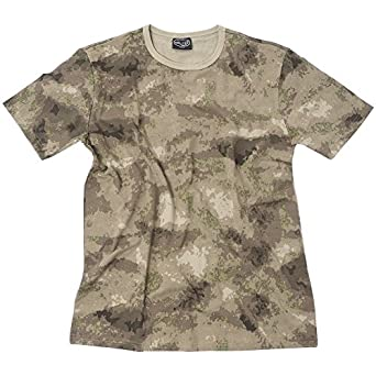 TEE SHIRT CAMO CAMOUFLAGE MIL-TACS FG COL ROND ET MANCHES COURTES MILTEC 11010059-S AIRSOFT